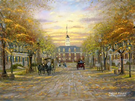 Tapete Kolonialstil by Hd Robert Finale Paintings Robert Finale Cityscape