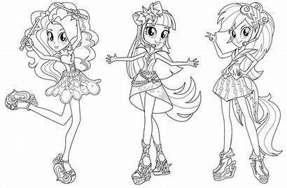 Coloring Equestria Pages Printable