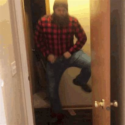 Lumberjack Gifs Dancing Flannel Beard Tenor Yes
