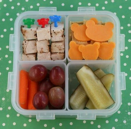 healthy packed lunch lunch box bento pique nique