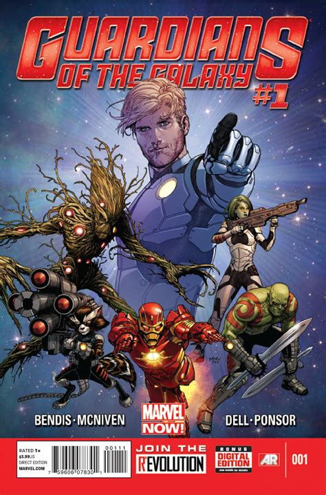 Review: GUARDIANS OF THE GALAXY #1 by Brian Michael Bendis ...