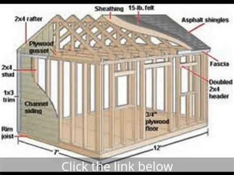 shed designs free garage plans 12 000 free shed plans