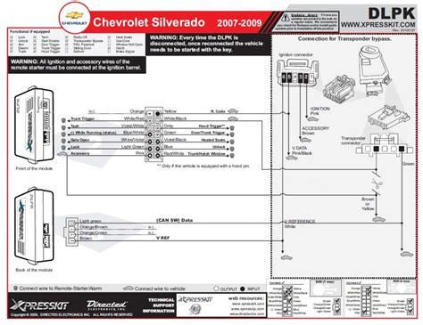 2008 Chevy Silverado Starter Wiring Diagram by 07 12 Silverado Tahoe Suburban Remote Start Keyless