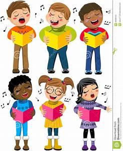 Image D Enfant : livre heureux de choeur d 39 hiver de chant d 39 enfant d 39 enfants d 39 isolement illustration de vecteur ~ Dallasstarsshop.com Idées de Décoration