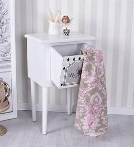 Shabby Chic Nachttisch : nachtschrank shabby chic kommode nachttisch vintage nachtkommode ebay ~ Frokenaadalensverden.com Haus und Dekorationen