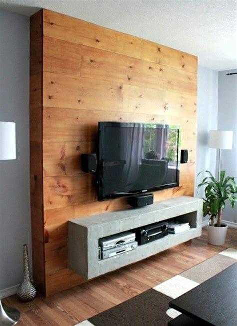 fixer une cuisine sur du placo le meuble télé en 50 photos des idées inspirantes