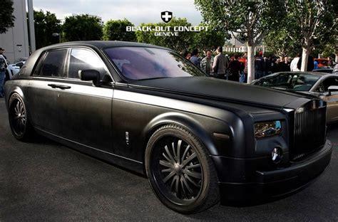 Matte Black Rolls Royce Phantom Let A Dream