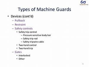 Machine safe guarding training by JULIAN KALAC