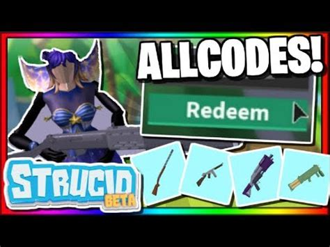 roblox strucid   codes  august  robux