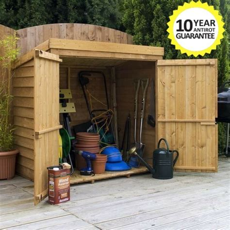 Lawn Mower Storage Shed by Wooden Garden Storage Shed 5ft X 3ft Tool Lawn Mower
