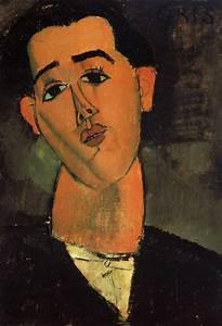 Portrait of Juan Gris - Amedeo Modigliani - WikiArt.org ...