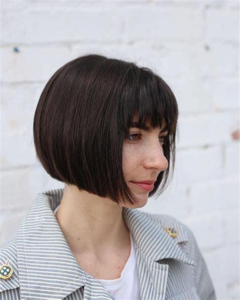 bob  bangs hairstyle ideas trending