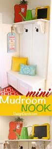 Diy Mini Mudroom Nook  Step