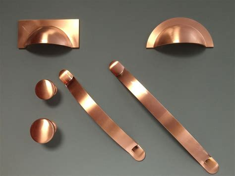 Kitchen Cabinet Pulls Copper by Brushed Copper Handles Cups Knobs Pulls Bows For Kitchen