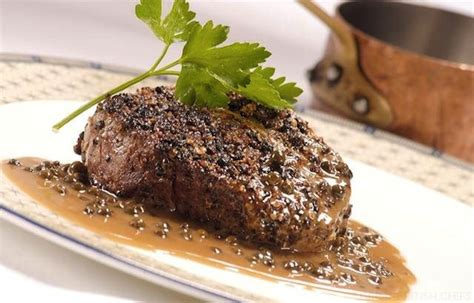 steak au poivre steak au poivre recipe dishmaps