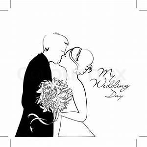 Dessin Couple Mariage Couleur : dessin couple mariage noir et blanc recherche google ~ Melissatoandfro.com Idées de Décoration