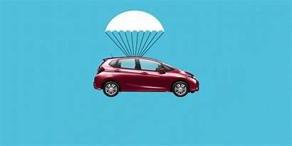 Honda Parachute Project Illustration Justin Ride Sweet