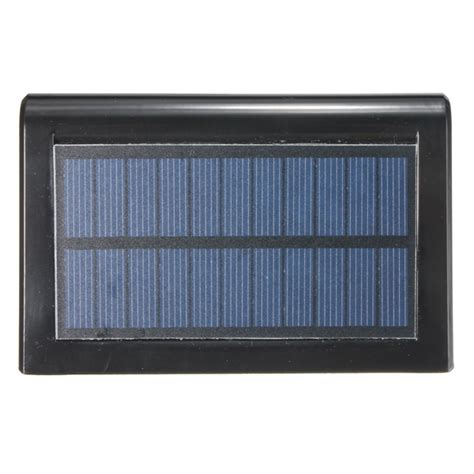 16 led solar panel sensor light outdoor waterproof ip65
