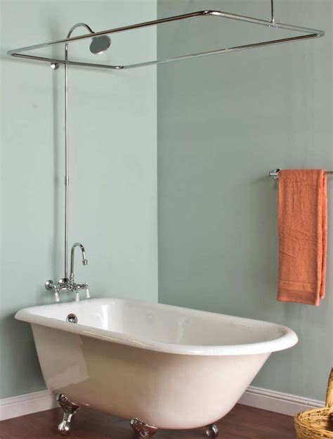 Shower For Clawfoot Tub by 40 Best Images About Clawfoot Tub Shower On
