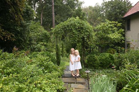 a charming garden hgtv