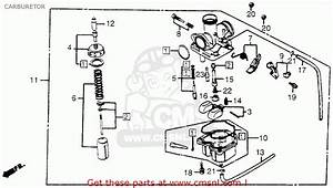Honda Trx 200 Carb Diagram