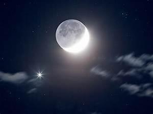 Venus Near the Moon