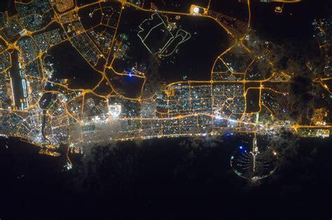 Houston Skyline Hd Wallpaper Dubai At Night Nasa