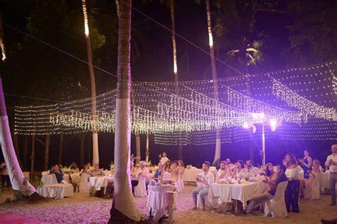 tropical wedding in palawan philippines wedding