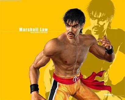 Tekken Law Wallpapers Marshall Bruce Lee Future