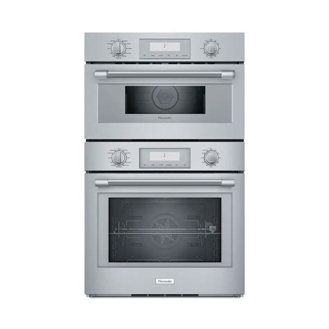 thermador professional series  double electric convection wall oven  built