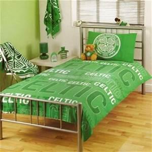 buy celtic fc single duvet set With bedroom furniture sets glasgow