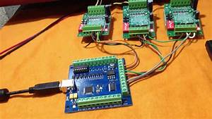 Kit Cnc Usb At U00e9 4 Eixos Compat U00edvel Com Mach 3