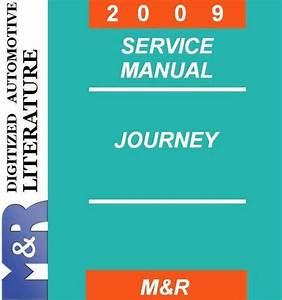 2009 Dodge Journey Original Service Manual   Owner   Parts
