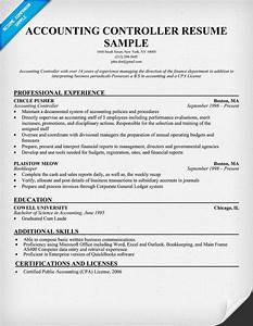 Good Example Of Resume Accounting Controller Resume Resumecompanion Com