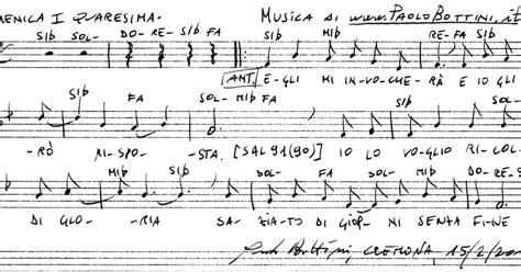 Canti Ingresso Messa Canti Per La Messa Domenica I Quaresima Canto D