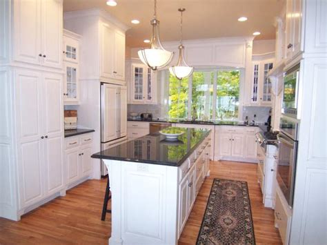 small u shaped kitchen with island u shaped kitchen design ideas pictures ideas from hgtv 9359