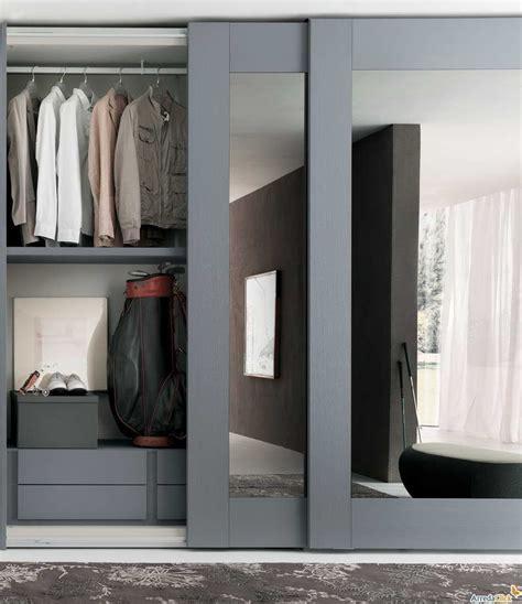 Sliding Door Mirror Closet by Sliding Mirror Closet Doors With Gray Hair Mirrored