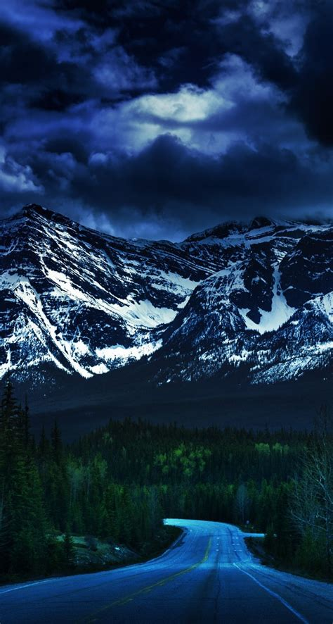 Falling Darkness Hd Wallpaper For Iphone 5  5s Screens
