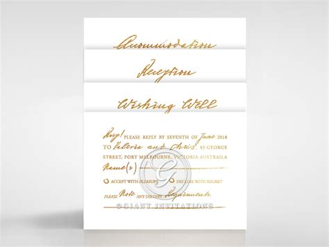 Enchanting And Elegant Scripted Calligraphy Marriage Invite