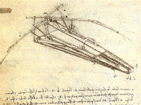 Macchine Volanti Di Leonardo Da Vinci by Le Cinque Invenzioni Di Leonardo Da Vinci Potrebbero