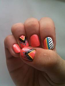 96 best images about Tribal nails on Pinterest | Nail art ...