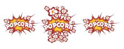 design sticker top popcorn designs