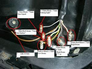 560sl  Headlight Plug  Does Anyone Know The Wiring Layout