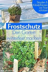 Pflanzen Winterfest Machen : garten winterfest balkonpflanzen winterfest winterfest ~ A.2002-acura-tl-radio.info Haus und Dekorationen