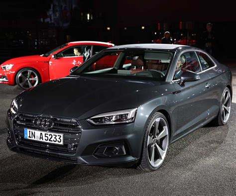 audi a5 get evolutionary changes in both exterior and interior