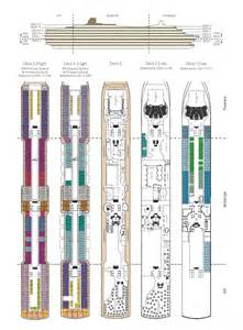 Queen Elizabeth Cunard Deck Plans