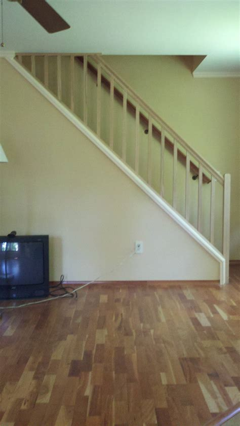 how to build a stair banister how can i set up a removable stair railing home