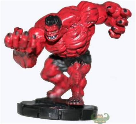 red hulk  web  spider man marvel heroclix marvel
