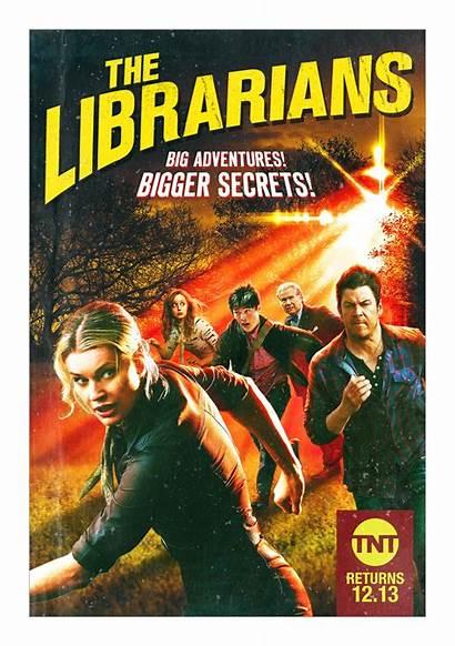 Librarians Season Poster Adventures Magazine Secrets Bigger