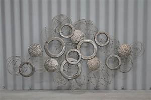 Decoration Murale Design : d co murale design metal ~ Teatrodelosmanantiales.com Idées de Décoration